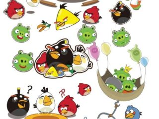 Angry Birds characters Vectores