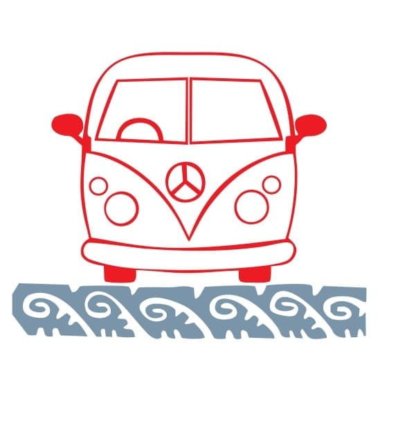 Combi Bus VW Kombi Volkswagen Vector