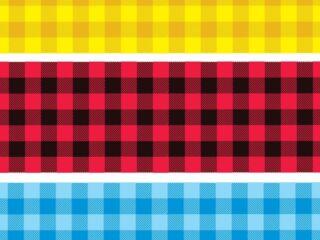 cuadricula pattern vector textura de tela a cuadros de colores
